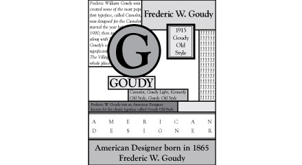 Goudy Grid Design